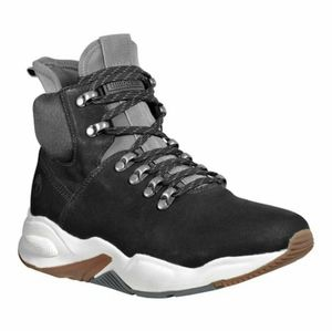 Timberland Jet Black Delphiville Women Leather Boo
